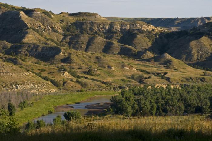 River Through the Badlands