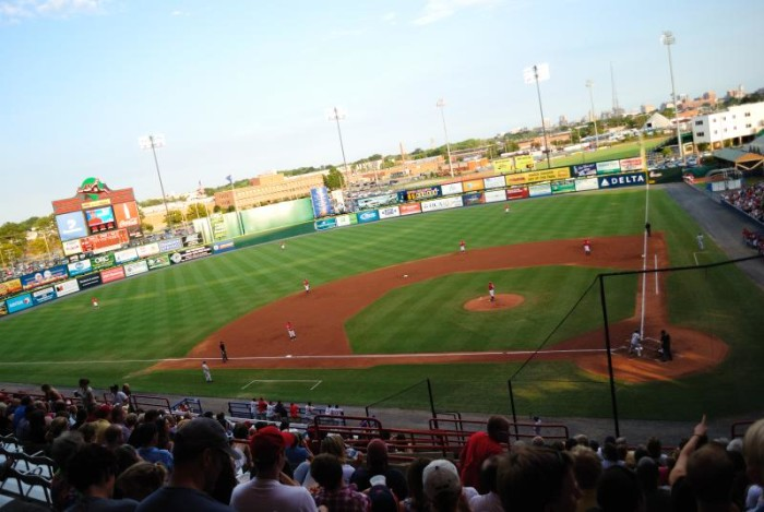 17. Root for the Flying Squirrels