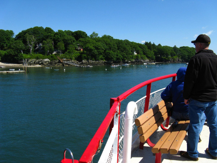 14. They're on the Casco Bay Mailboat run...