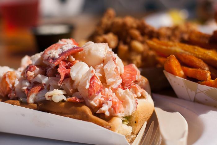 7. Warm Lobster Rolls