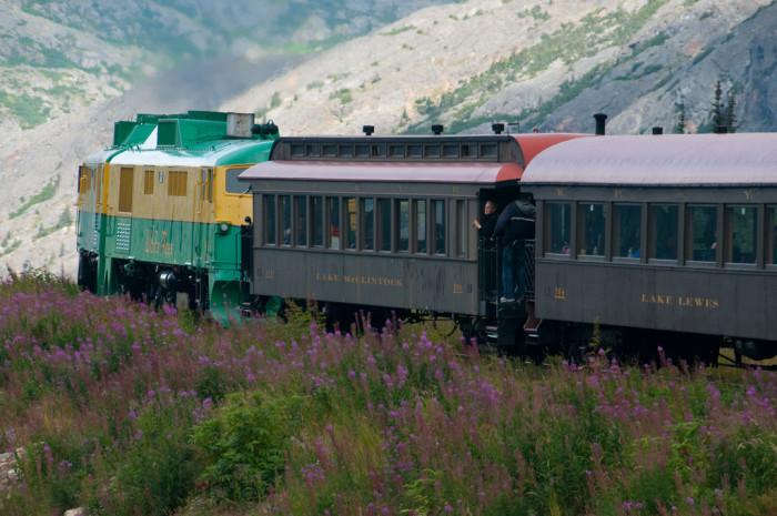 5. Ride the White Pass Yukon Route Railroad