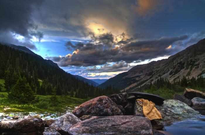 8. Conundrum Hot Springs in Aspen, Colorado