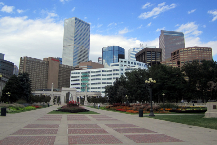 16.) Present day Civic Center Park.