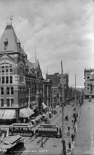 3.) 16th Street (c. 1900).
