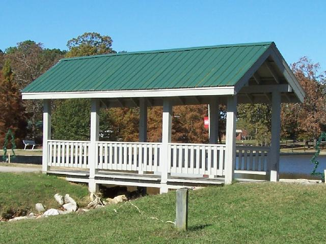 5. Located in Tupelo's James L. Ballard Park, this covered bridge may be small but it is big on charm.