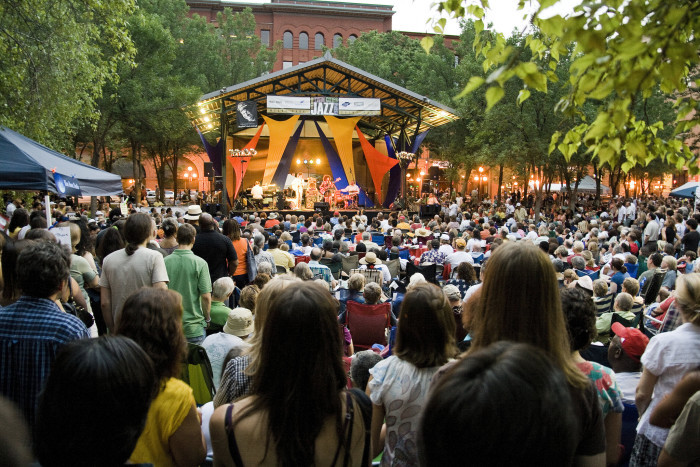 6. Enjoy free music or movies in parks all summer!