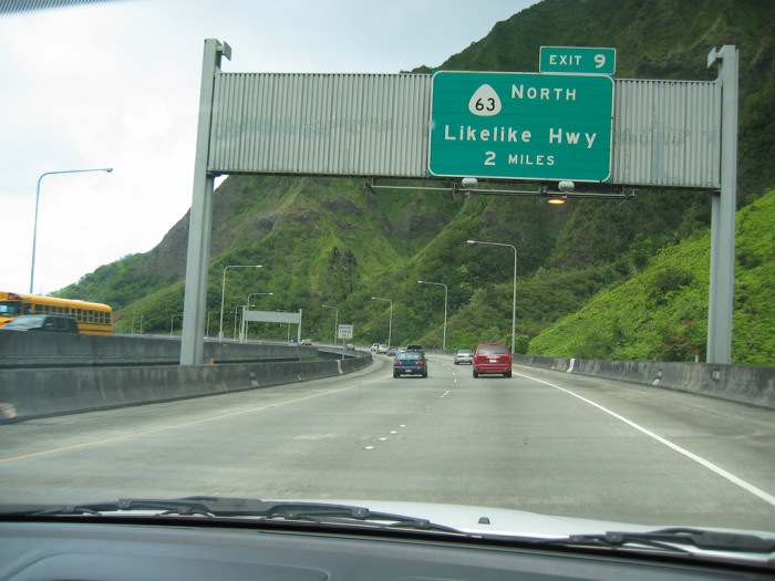 5. I've never met a tourist who pronounced Likelike Highway correctly on the first try.