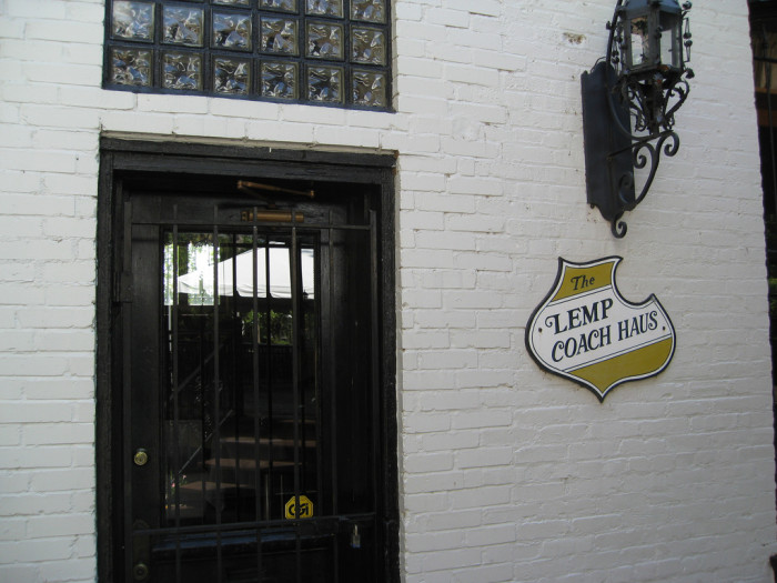 5. The Lemp Coach Haus, Lemp Mansion, STL
