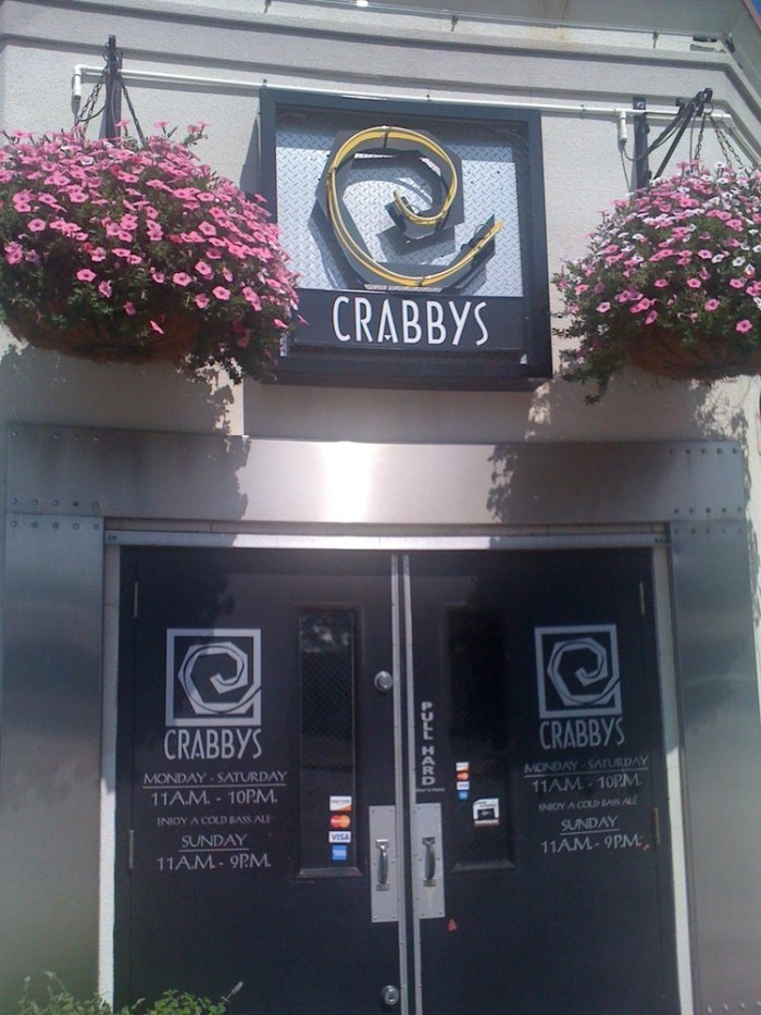 Lunch Day Two:  Crabby's Seafood Bar & Grill, Joplin