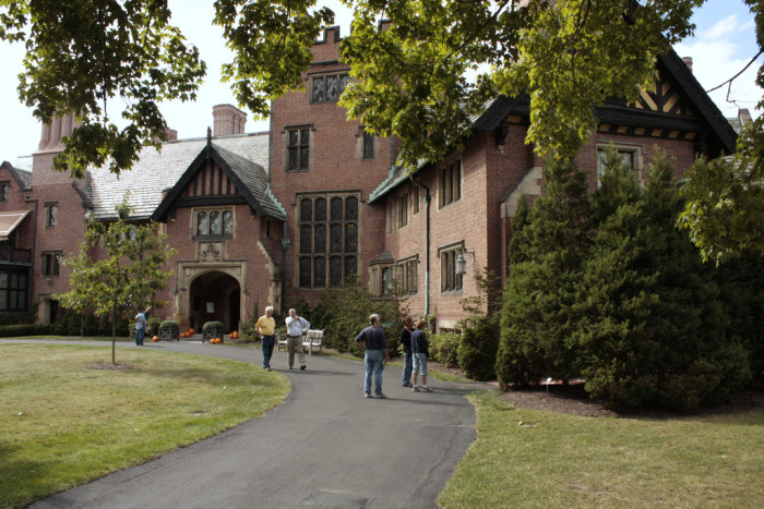 3. Tour the Stan Hywet Hall and Gardens.