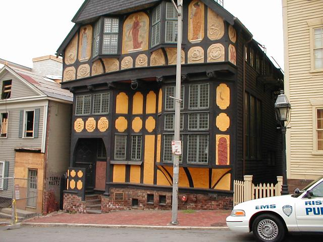 11. Fleur-de-Lys Studio, Providence: This eccentric house near College Hill in Providence is amazing.