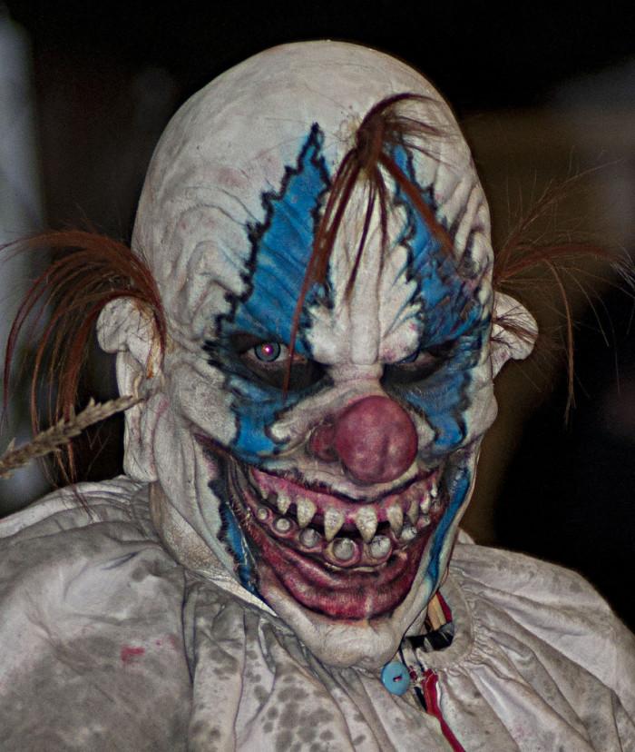 "2. ""Ax-Wielding Clown Threatens NC Woman."""