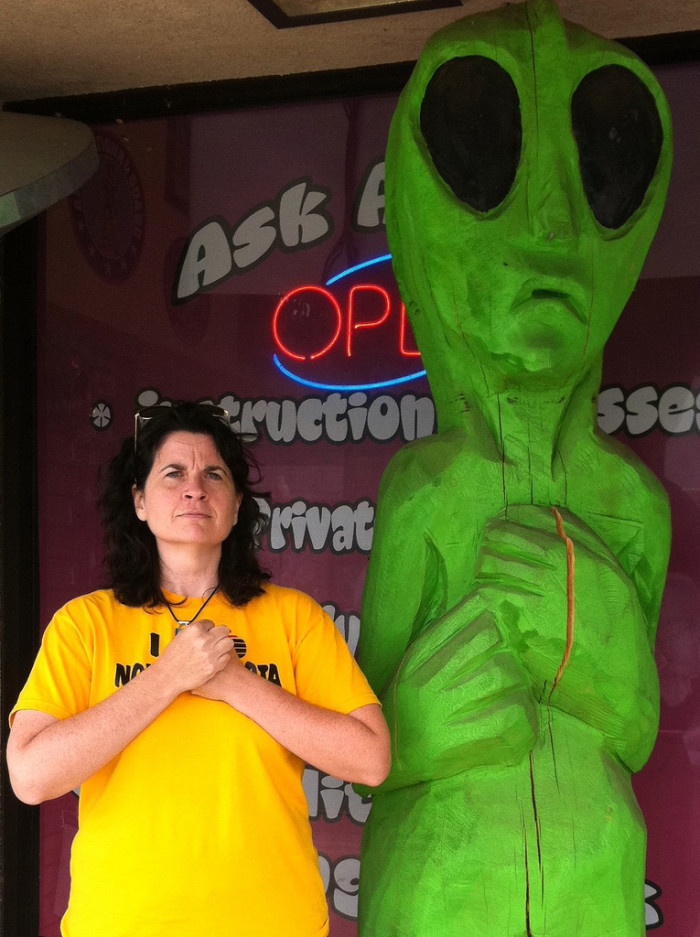 5. Best at dealing with alien jokes.