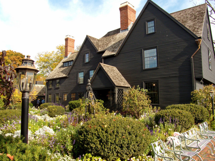 8. House of the Seven Gables. Haunted. For sure. Moving on.
