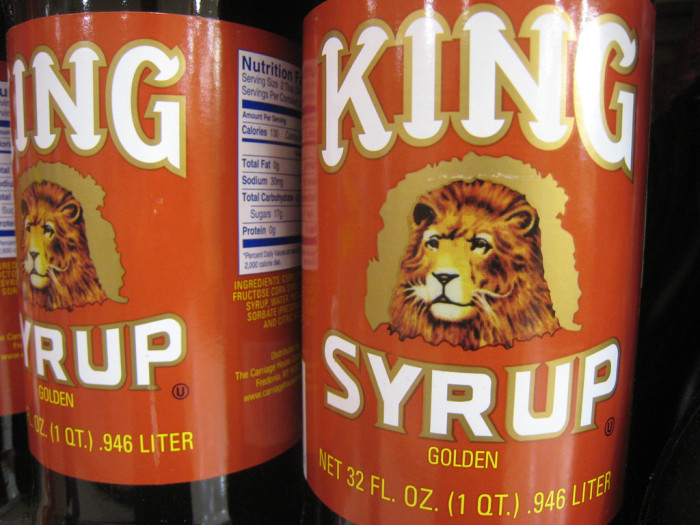 11.  Fake syrup