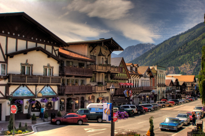 4. Experience the Bavarian town of Leavenworth.
