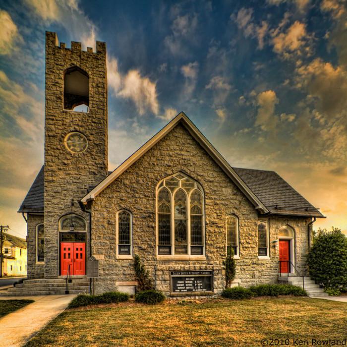7. Salem United Methodist, Selbyville