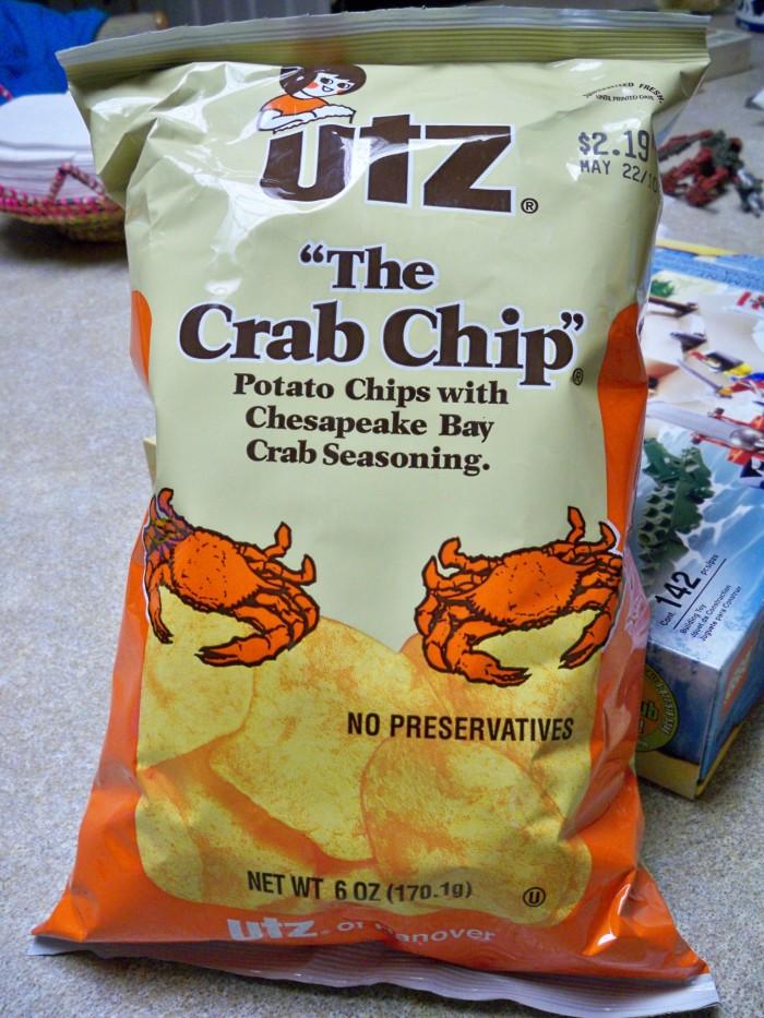 18. Utz Crab Chips