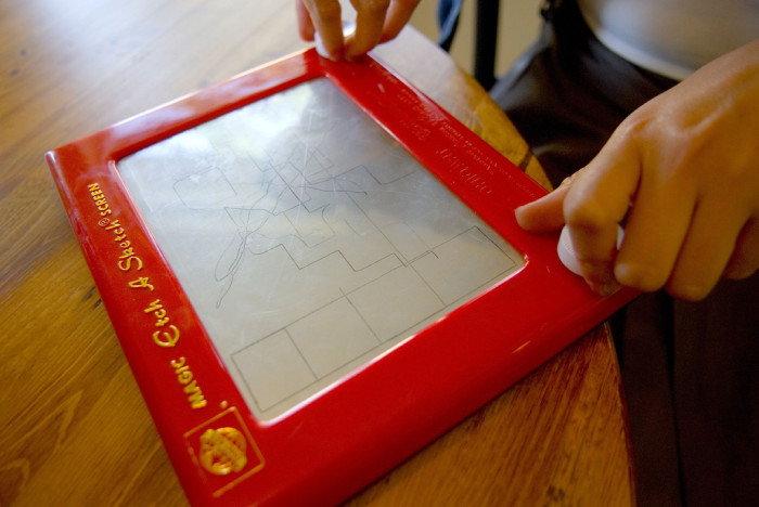 9. The Etch-a-Sketch: bringing out your inner artist, one squiggle at a time.
