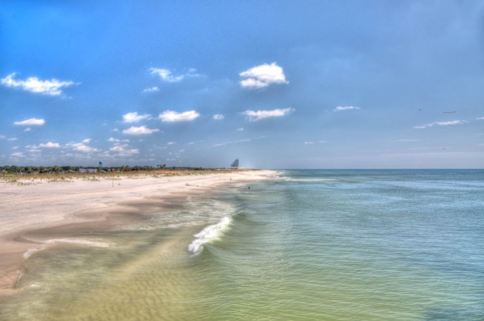 5) Gulf Shores State Park