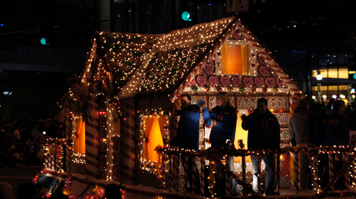 8.) When it 'tis the season, brave the cold to watch the Parade of Lights...