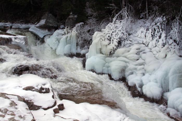 "8. Fans of ""Frozen"" will enjoy this White Mountain winter scene."