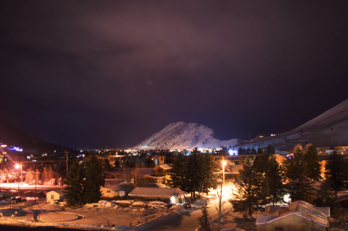 Photos Of Wyoming At Night