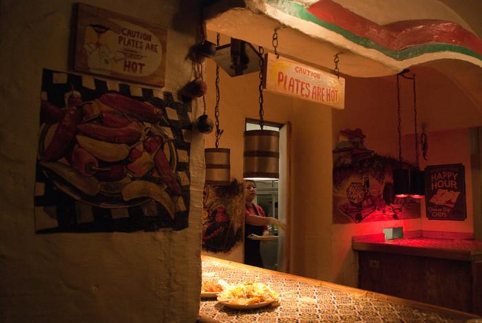 14.) Ponder what it is you're actually eating at Casa Bonita.