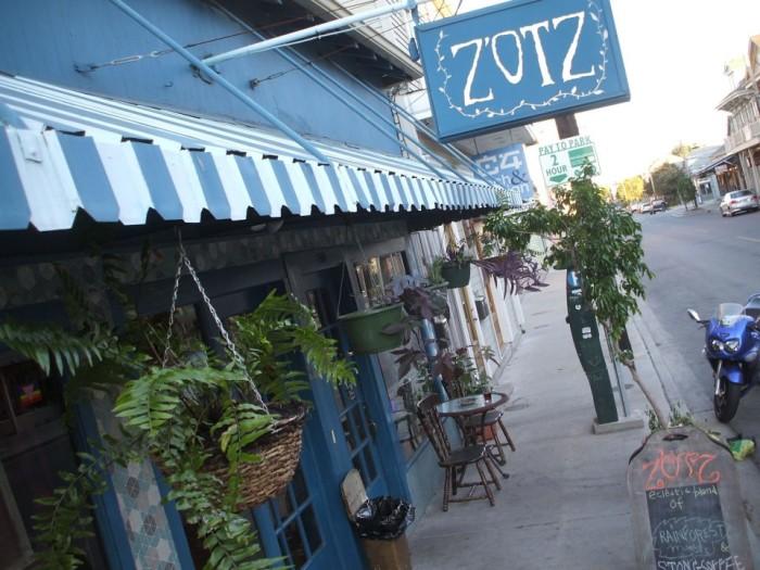 4) Zotz, 8210 Oak Street