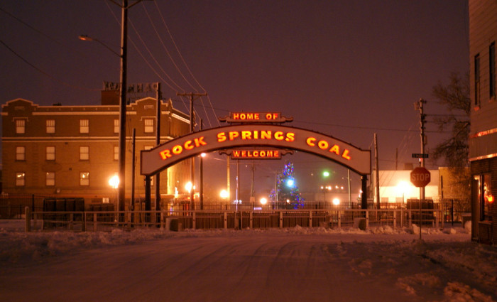 5. Rock Springs