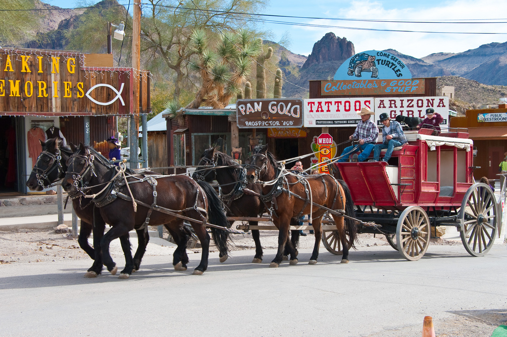 Visit Oatman Az This Weekend