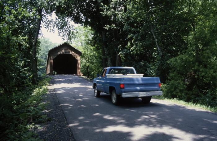 2. Meems Bottom Bridge