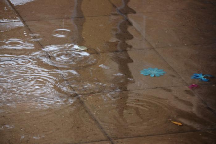 2. Wishing for less rain.