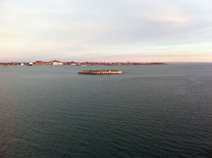 You've probably spotted Fort Carroll from the Baltimore Key Bridge, not knowing exactly what it was. From afar, it appears to be a concrete slab floating in the Patapsco River.