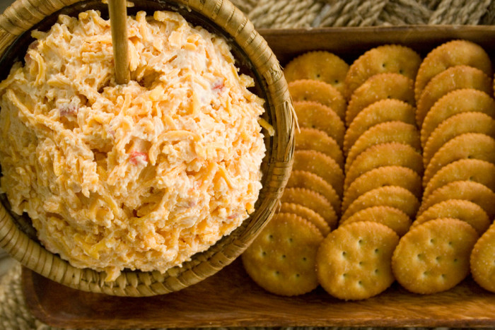 11. Pimento cheese and literally anything.