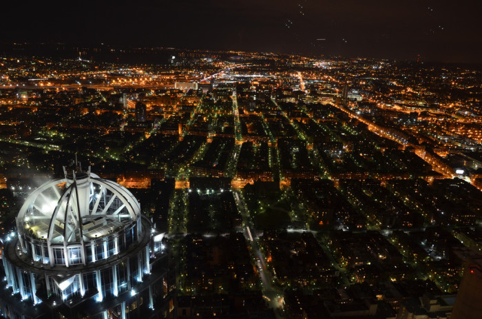 1. This is the view from the Prudential Center Skywalk Observatory in Boston. Pretty much the definition of jaw-dropping.