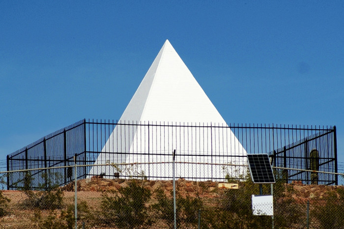 'Las Rosas más grandes del mundo' Agradecimientos Ciudad del desierto de Arizona: NPR