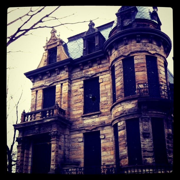 The Story Behind Ohio's Most Haunted House, Franklin Castle