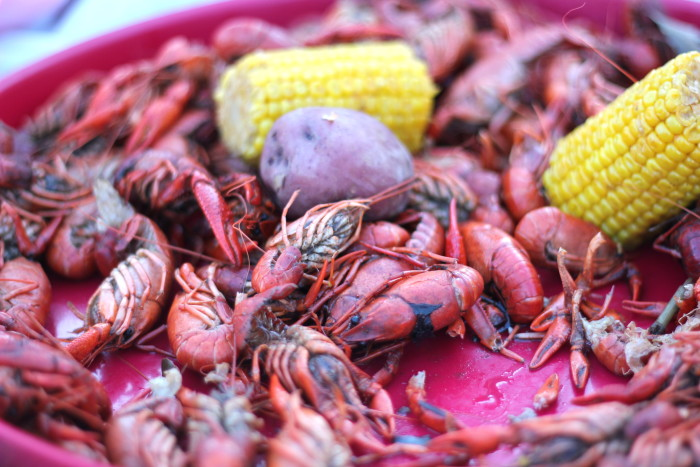 7. How many pounds of crawfish you can consume