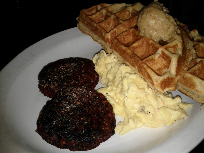 5. Okay, so Austnites may have an obsession with breakfast foods. 24 Diner is open 24/7 and has mouth watering, yeast-risen waffles that are off the hinges delicious. Dare to be bold and order the Chicken and Waffles meal.
