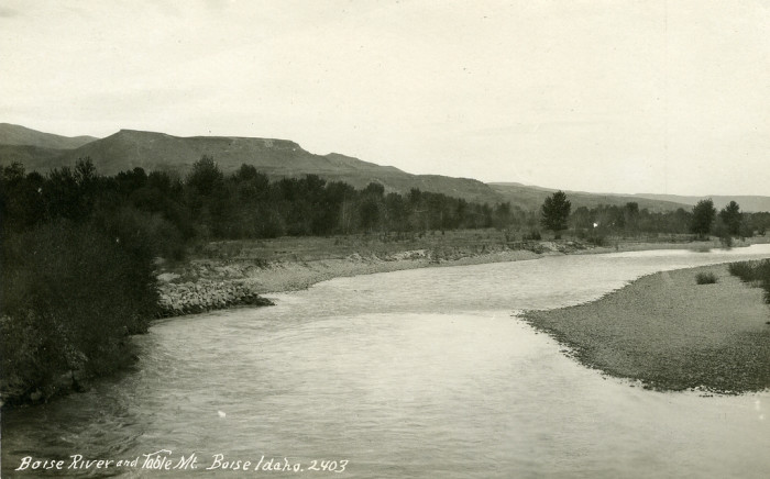 8. The Boise River in 1920 wasn't the thriving, urban oasis it is today.