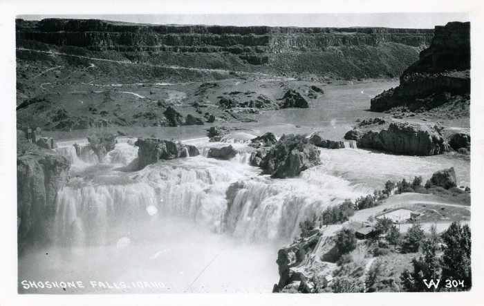 6. Shoshone Falls circa 1920 was a force to be reckoned with.