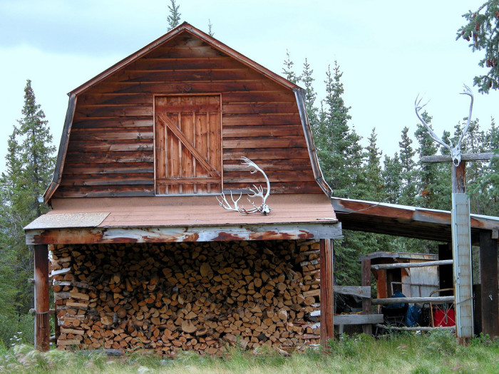 5. Firewood is a necessity in the bush.