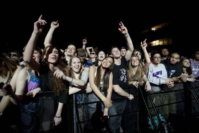 6. Concert freak