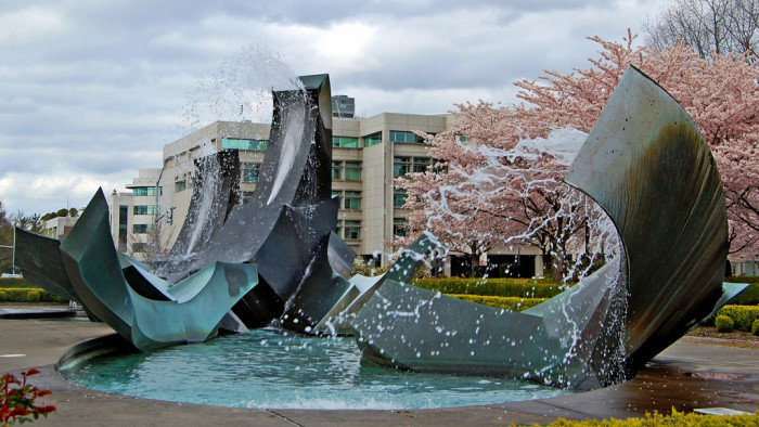 16. The Capitol Fountain in Salem