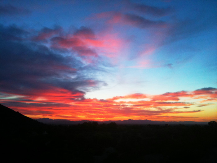 1. The perfect start to any Arizona day? A sunrise walk or run, of course. Pick a trail with the eastern horizon in your view and enjoy greeting a new day.