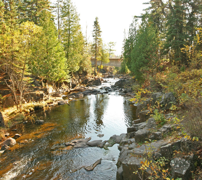 13) The Deeps at Lester River - Duluth, Minnesota