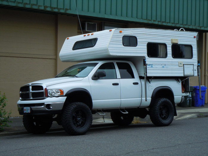 4. In fact, they don't need anything fancy at all. Forget a nice hotel - just give them a pickup with a camper shell.
