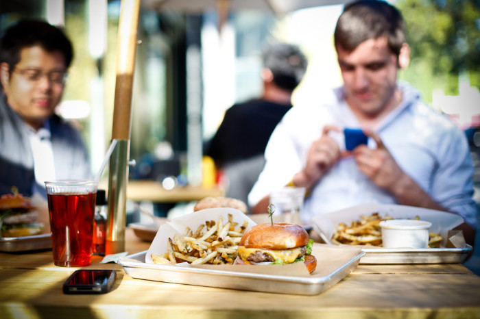 9. Austin's people are serious about their food. Hopdoddy's one-of-a-kind burgers are so memorably delicious, that this establishment often has a line wrapped 'round the building.