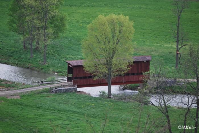 7. Betty Ruth Covered Bridge